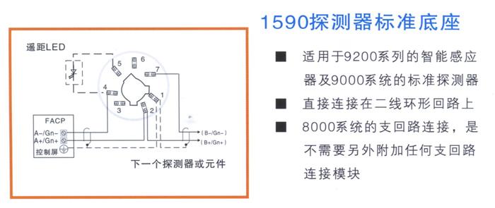 1593探测器短路隔离器底座